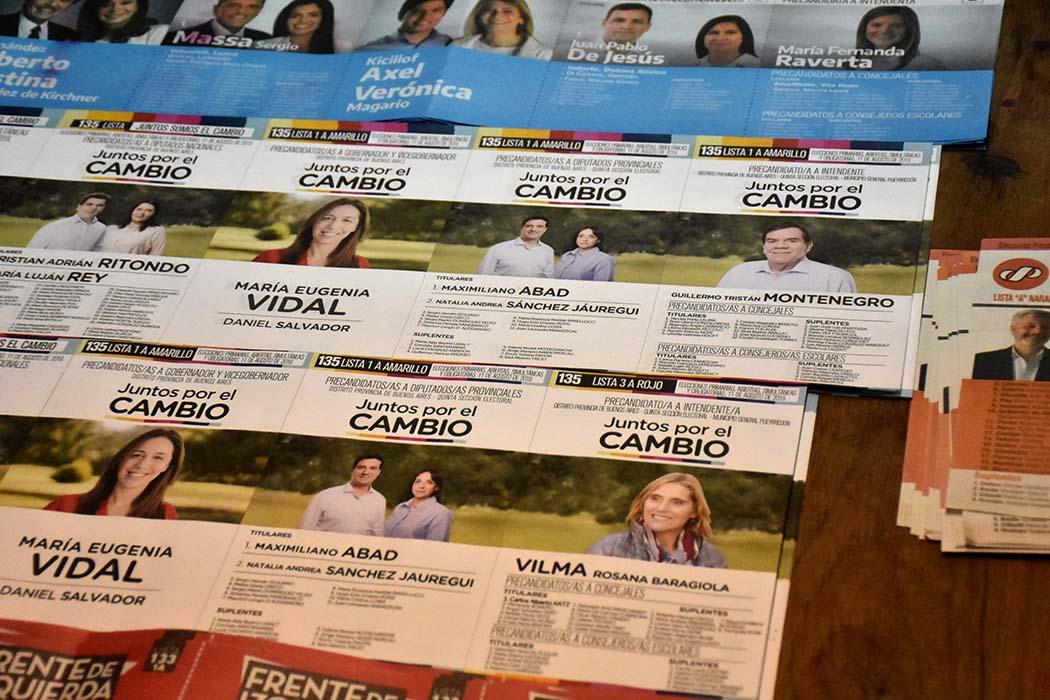 JUNTOS POR EL CAMBIO ELECCIONES 2019 PASO