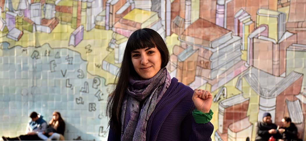 """Laura Gómez: """"Nosotros tenemos listas feministas en un 100%"""""""