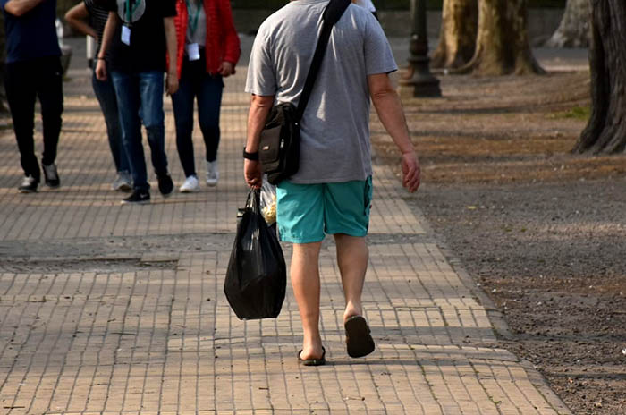 Tarde calurosa y pronóstico de lluvia y tormenta en Mar del Plata
