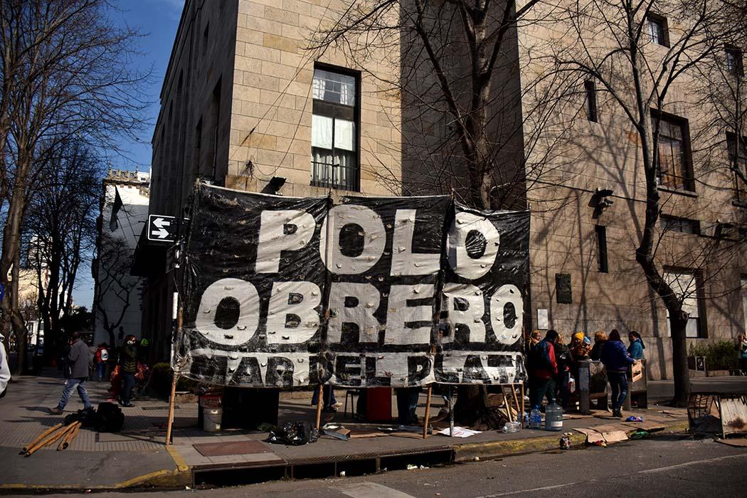 """El Polo Obrero advierte con un acampe: """"No tenemos respuesta"""""""
