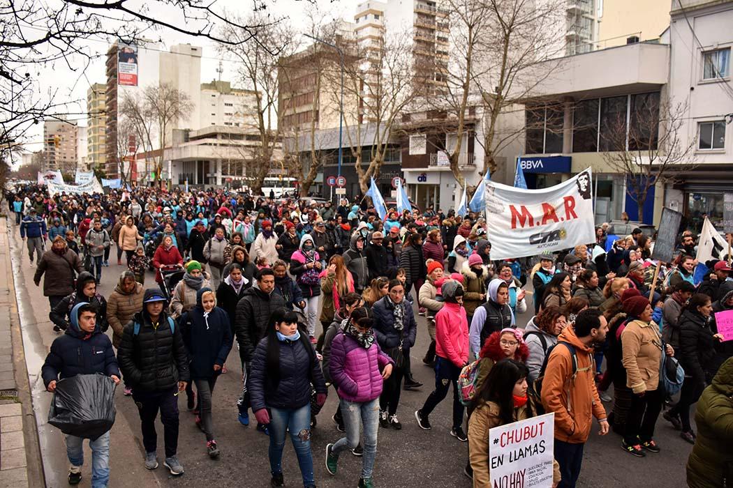Otra protesta por trabajo genuino y aumento de programas sociales