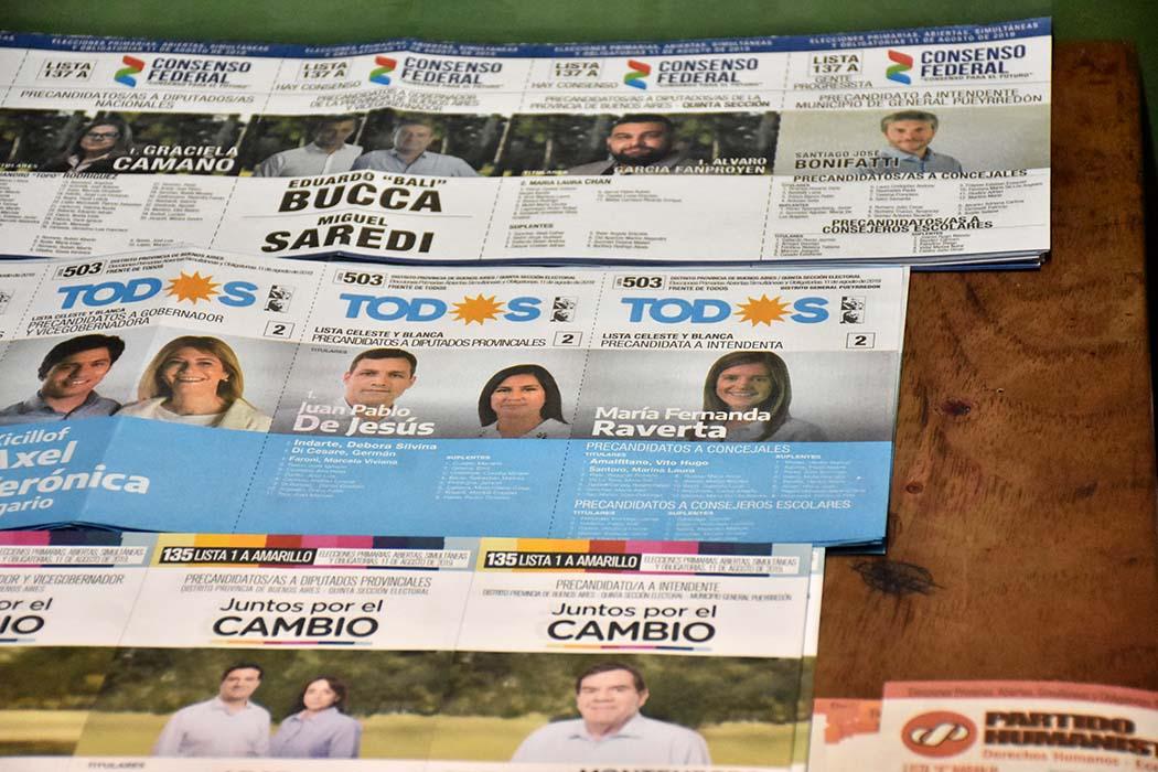 Raverta fue la más votada en las PASO en las mesas de extranjeros