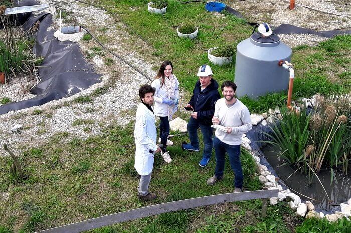 Un desarrollo para reutilizar el agua residual generada en los hogares