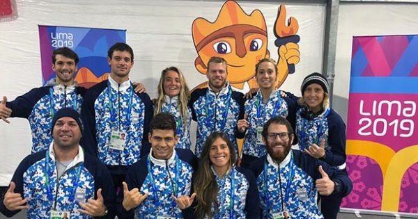 Lima 2019: jueves con mucha actividad marplatense en el surf