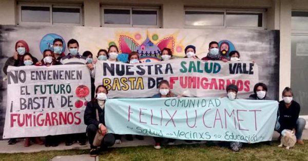 """Nuevas fumigaciones en Félix U. Camet: """"Nos toman el pelo"""""""