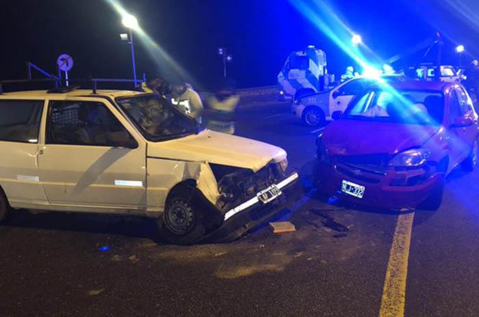 Conductor borracho provocó un choque en la costa: un herido