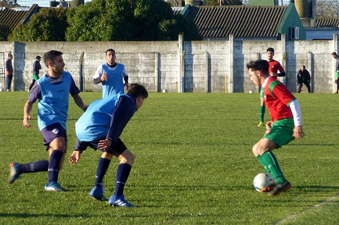 Círculo Deportivo disputó amistosos ante Defensores de Miramar