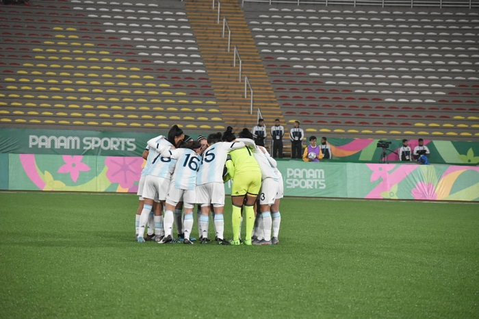 Lima 2019: medalla de plata para Menéndez con la Selección