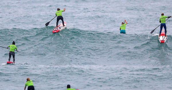 Surf: victorias en open, longboard y un quinto puesto en SUP race