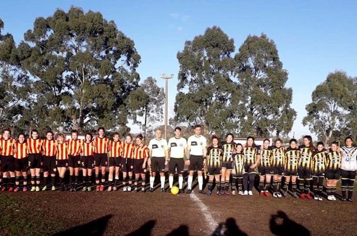 Fútbol femenino: Norte 0 – Talleres 3, el primer partido de la Liga Marplatense