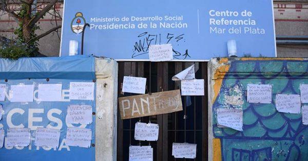 Desarrollo Social: sexto día de toma sin respuestas ni canal de diálogo