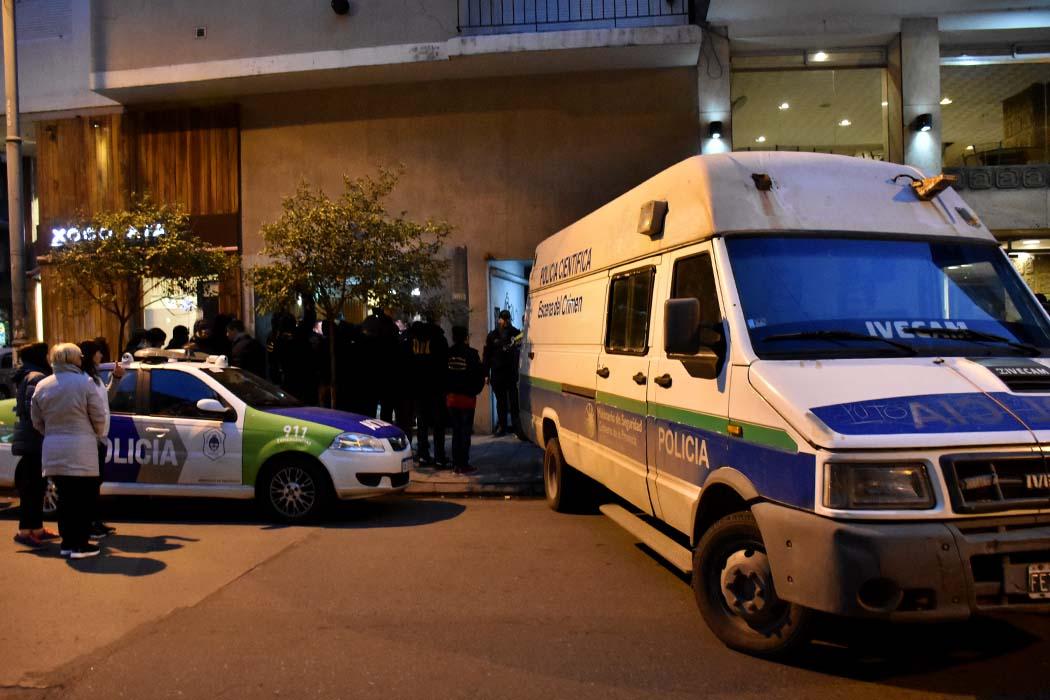 Allanan departamento por el crimen de la portera: los detienen con droga