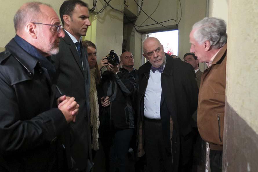 Juicio Subzona 15: inspeccionaron por primera vez la comisaría de Miramar