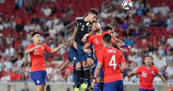 Martínez Quarta cumplió una buena gira con la Selección Argentina