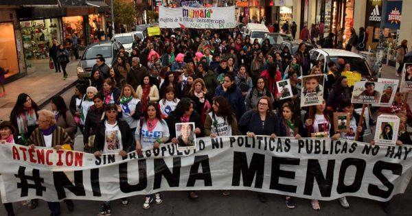 Violencia machista y femicidios: mujeres se movilizaron en Mar del Plata