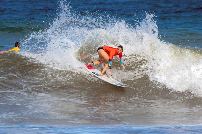 Mundial de Surf: Pellizzari, Ané e Indurain, eliminadas en repechaje