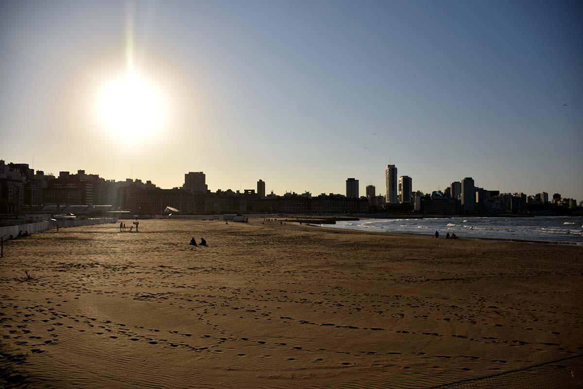 Paseo Hermitage: liberaron el paso a las playas que volvieron a ser públicas