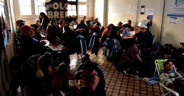 """Desarrollo Social, un mes de toma en el Unzué: """"Seguimos resistiendo"""""""