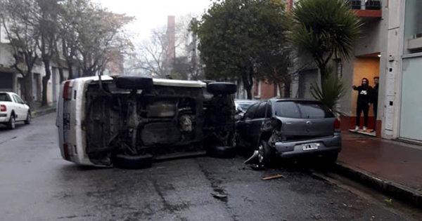 Tránsito: madrugada accidentada y con vehículos secuestrados