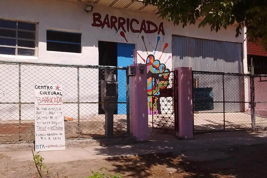 Denuncian amenazas contra un centro cultural del barrio Cerrito Sur