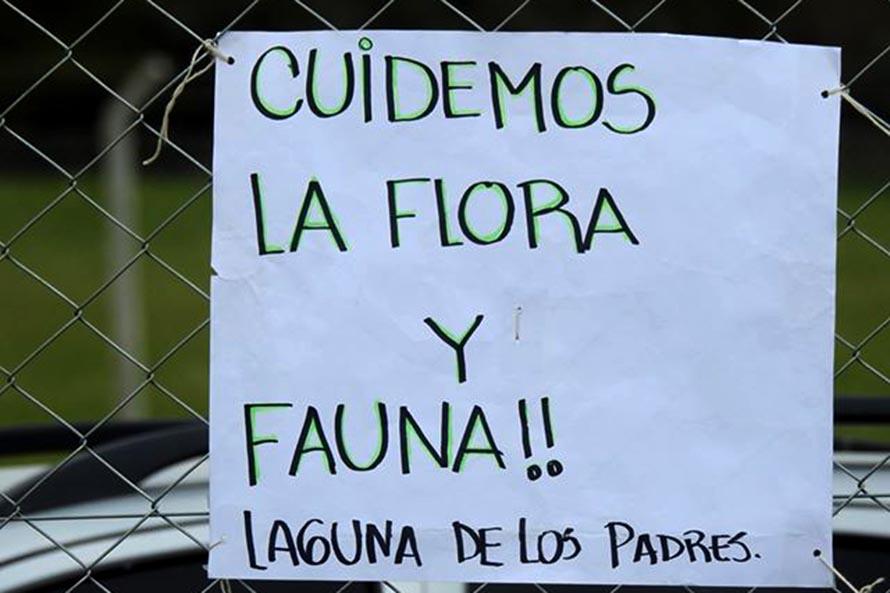 Laguna de los Padres: protesta y rechazo a la instalación del centro para perros