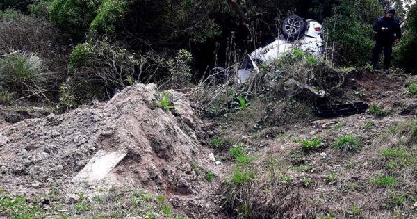 Murió un joven tras un vuelco en Estación Chapadmalal