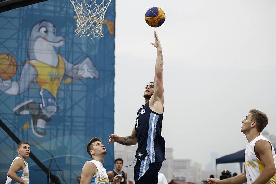 Básquet 3×3: Argentina fue eliminada en cuartos de final de los Juegos de Playa