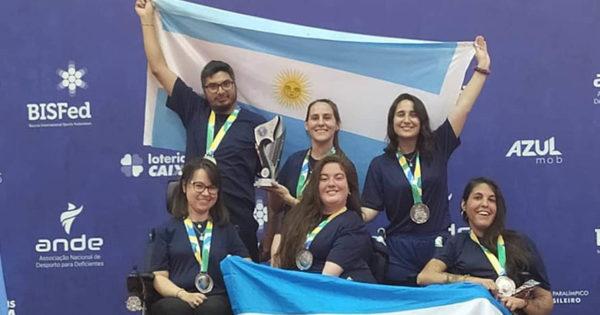 Medallas para marplatenses en el Campeonato de América de boccia