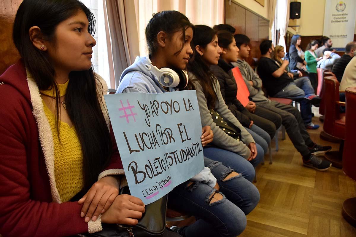 Boleto estudiantil: comenzó el diálogo con las nuevas autoridades municipales