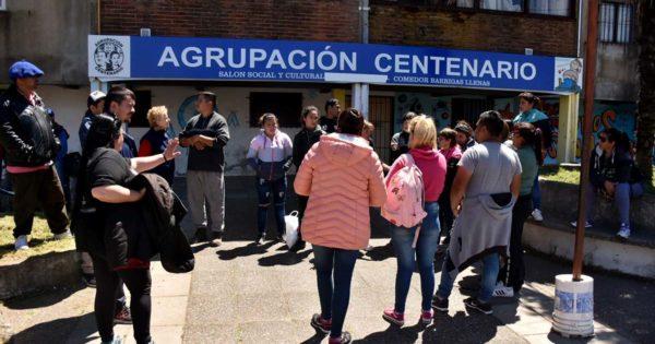 Barrio Centenario: la unión vecinal para evitar el desalojo a una familia