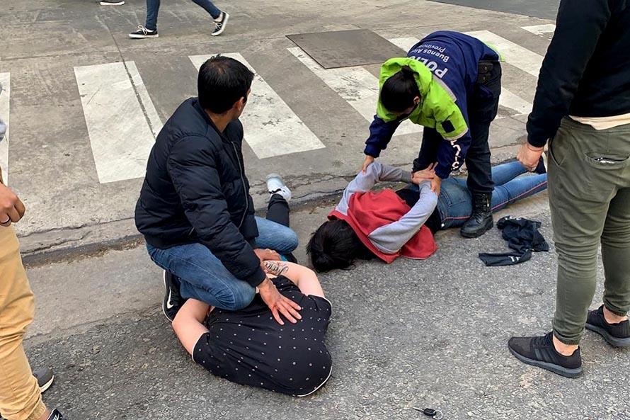 Detuvieron al acusado de matar al comerciante en el centro