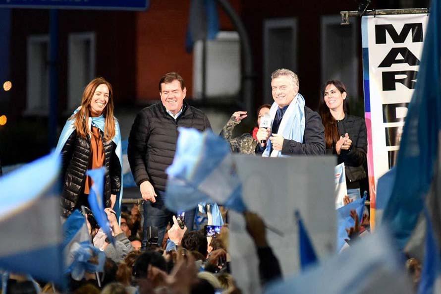 """Macri: """"No caigamos en escuchar a los que destruyeron el país decir que ellos saben"""""""