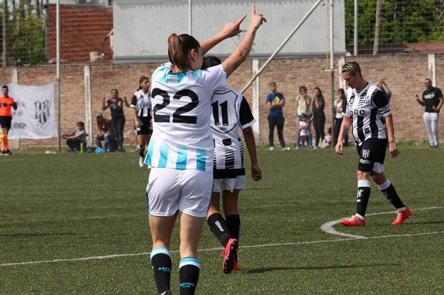 Fútbol femenino: Menéndez y Delgado, protagonistas en el fin de semana
