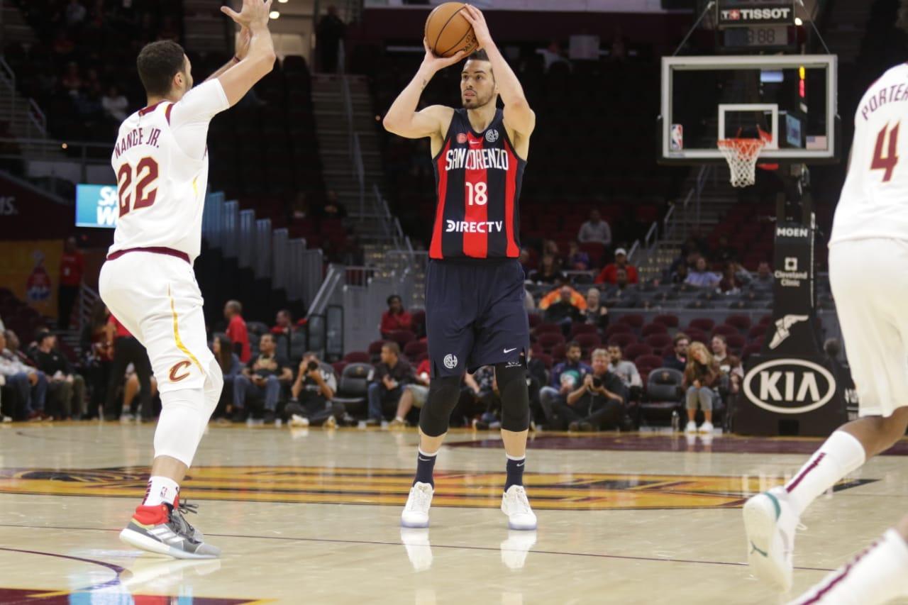 Los marplatenses de San Lorenzo, cara a cara contra los NBA