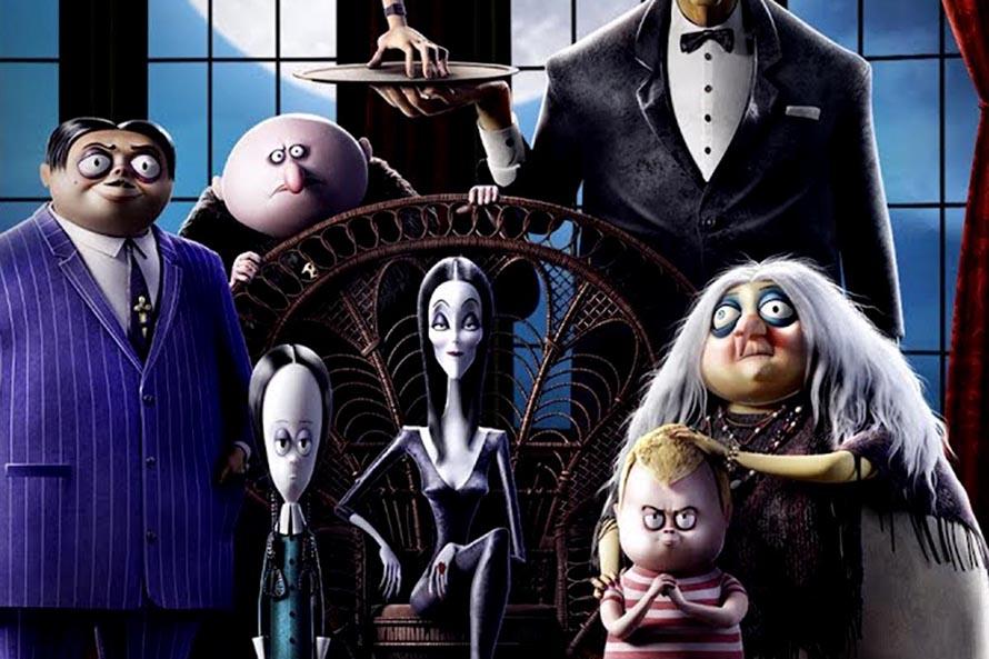 """""""Los Locos Addams"""" animados llegan a las salas de cine de Mar del Plata"""