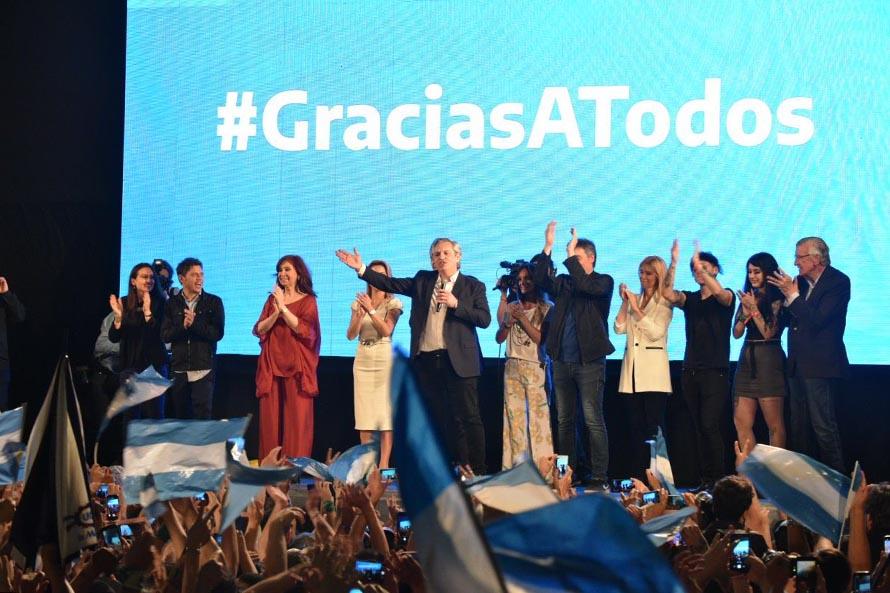 Alberto Fernández es el nuevo presidente, Axel Kicillof el próximo gobernador