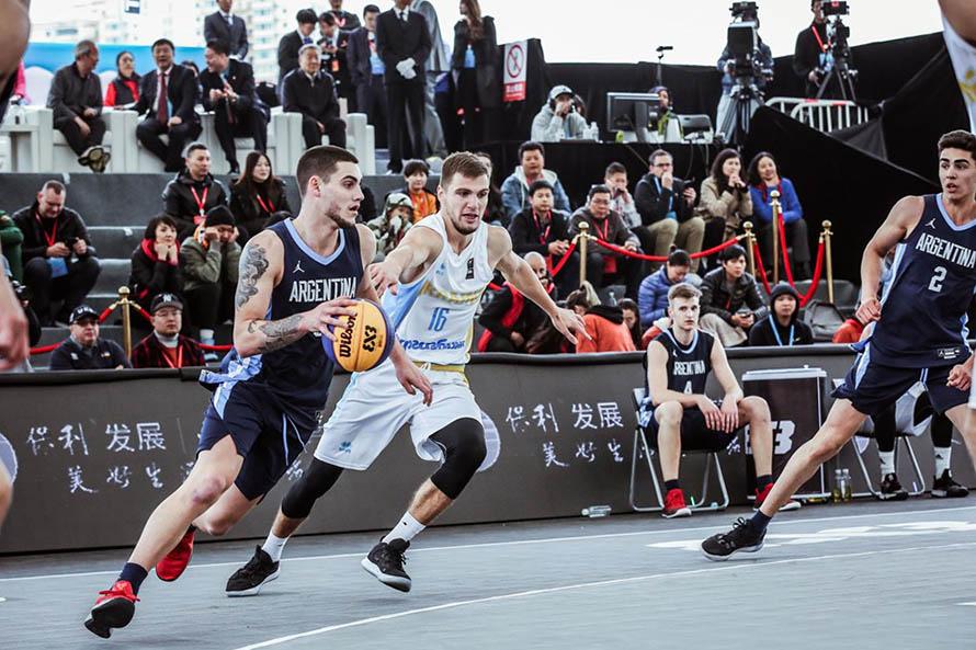 La Selección de básquet 3×3 quedó eliminada en cuartos del Mundial Sub 23