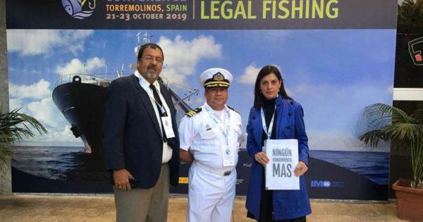 Las víctimas de hundimientos, ante la Organización Marítima Internacional