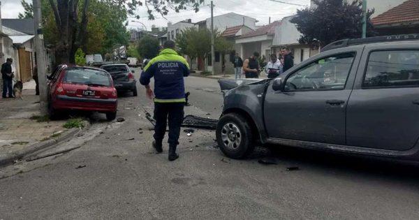 Violento choque en cadena en Olazábal e Ituzaingó