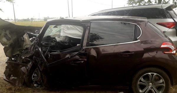 Murió un joven de 25 años por el violento choque en la Ruta 88 e Irala