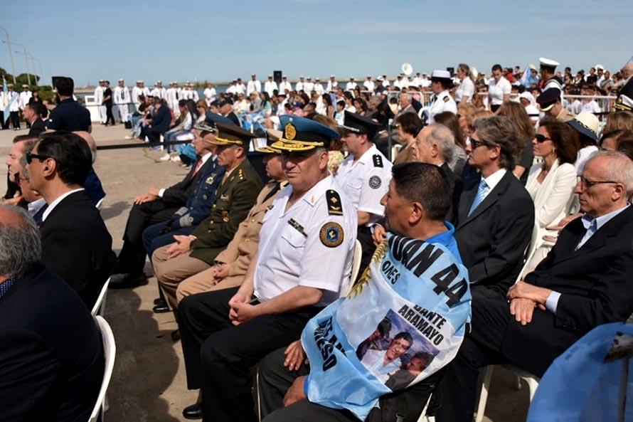 Dos años sin el ARA San Juan: una emotiva ceremonia y condecoraciones