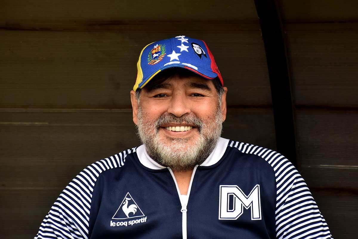 El paso de Maradona por Mar del Plata, en fotos