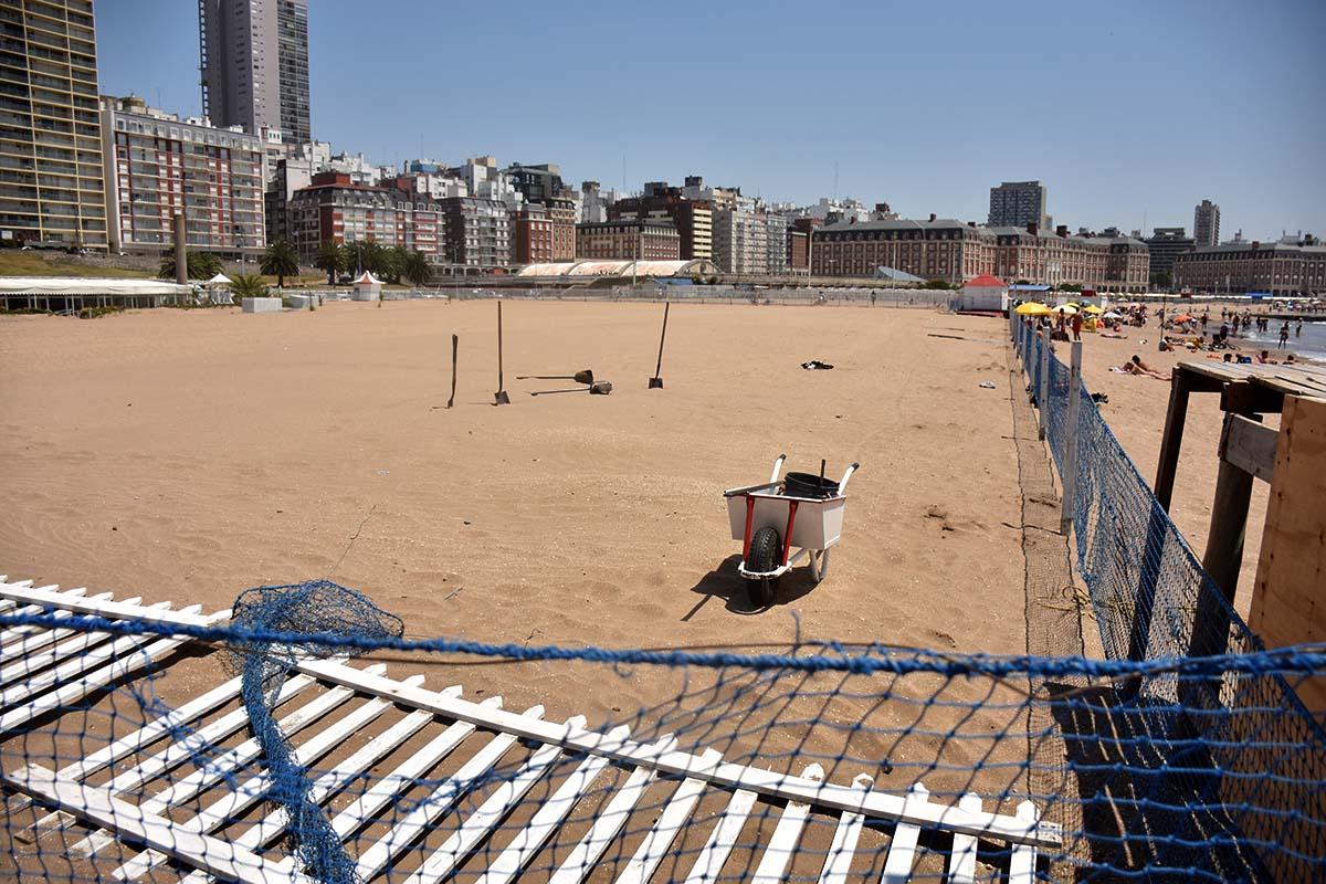 Paseo Hermitage: el gobierno intimó a Aldrey Iglesias a liberar la playa