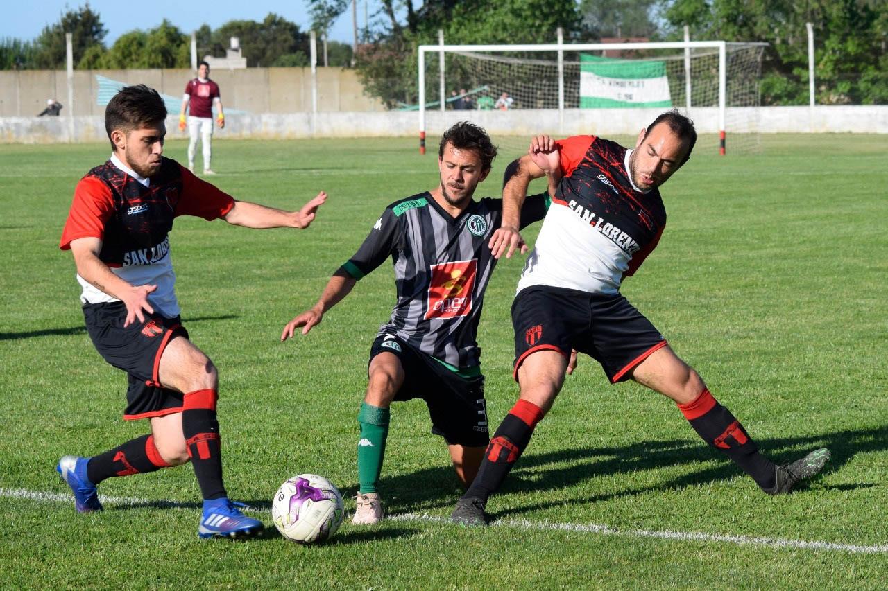 Fútbol local: San Lorenzo sacó ventaja en la primera final ante Kimberley