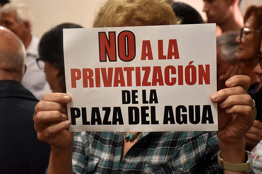 """Plaza del Agua: """"Logramos como ciudadanos imponer nuestra postura"""""""