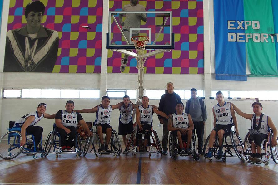Cideli es subcampeón de la Liga Nacional de básquet adaptado