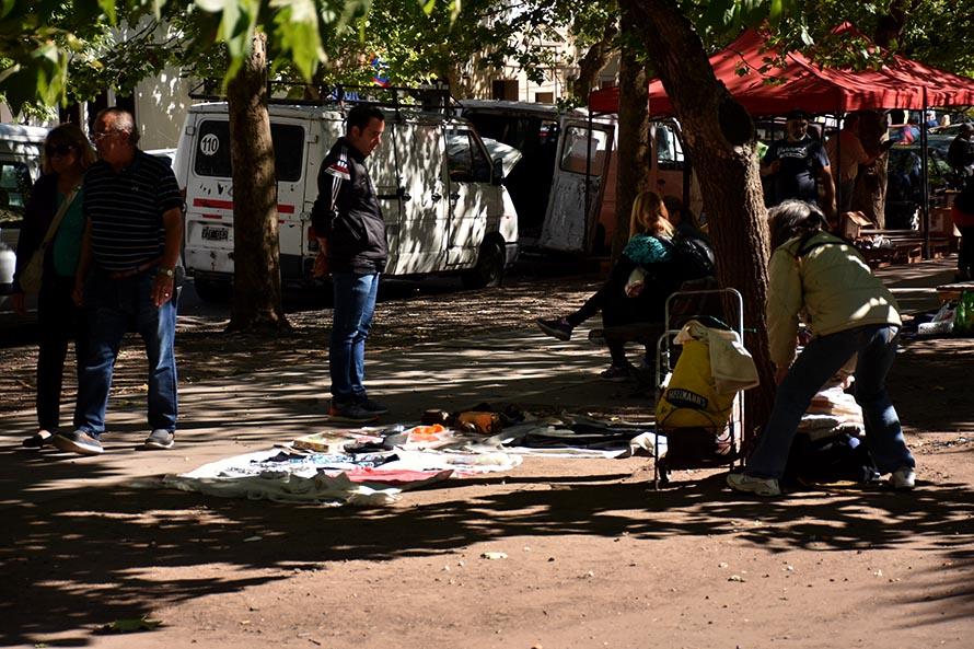 Tras el incendio en Torres y Liva, este jueves vuelve la feria a Plaza Rocha