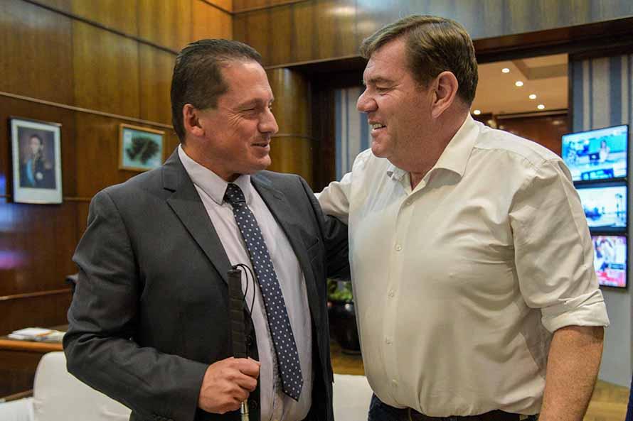 Montenegro designó a Marcos Folgar como el director de Discapacidad