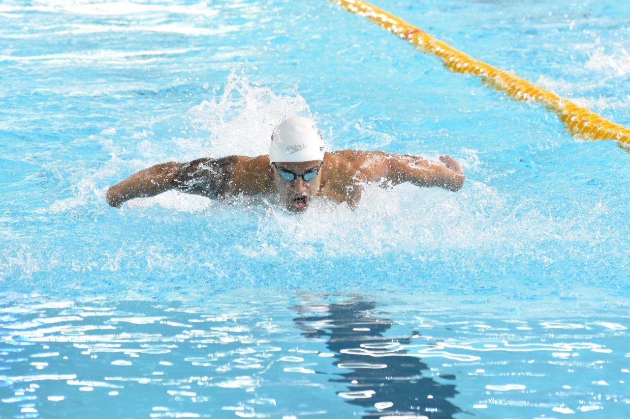 Guido Buscaglia, el gran destacado en el Campeonato Argentino de Natación