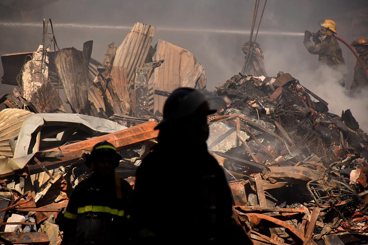 Fuego y destrucción: el día después del impactante incendio en Torres y Liva